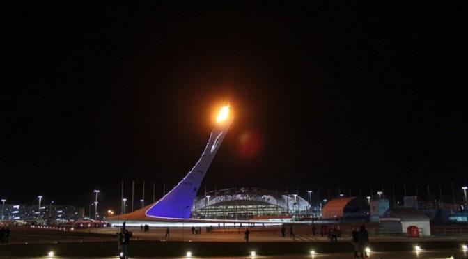 Spektakuläre und prunkvolle Abschlussfeier der Winterspiele von Sotschi