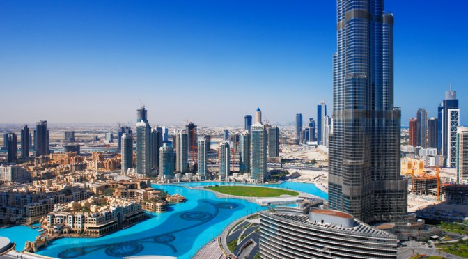 Dubai - die größte Stadt der Vereinigten Arabischen Emirate