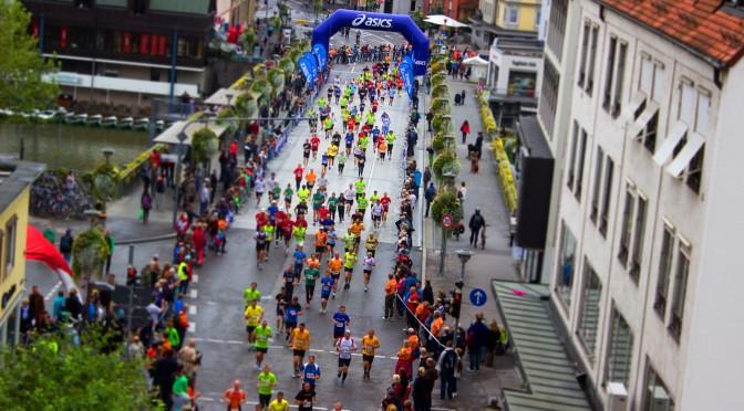 Der Berliner Halbmarathon ist fast schon ein Volksfest
