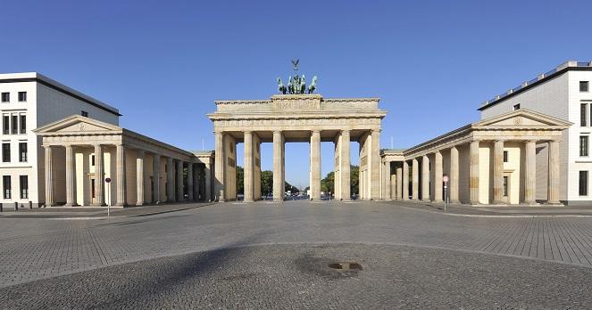 Ein Symbol für die Teilung Deutschlands – das Brandenburger Tor im Herzen Berlins