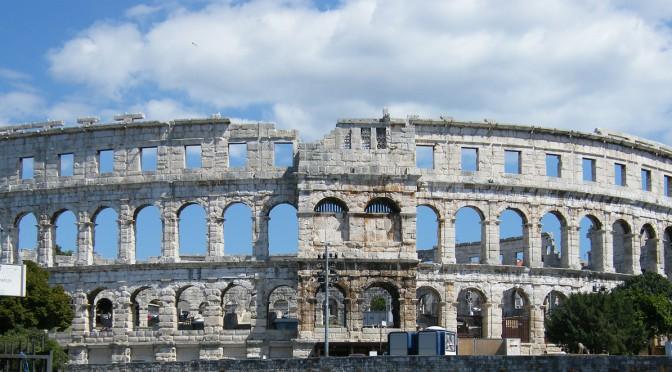 Viel Kultur und Geschichte – die istrische Stadt Pula