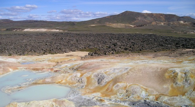 Der Vulkan Eyjafjallajökull