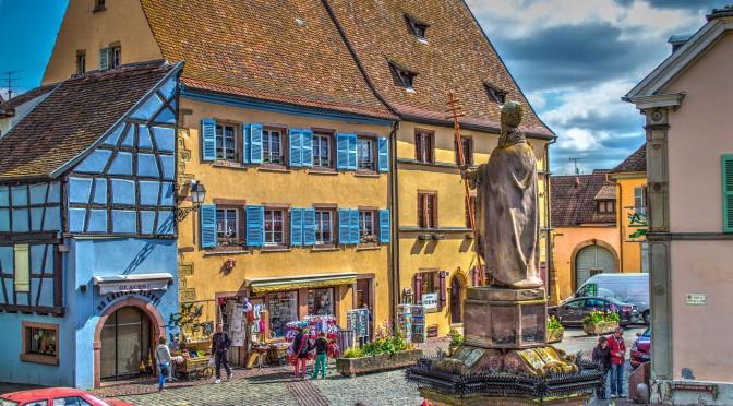 Das Weinbaugebiet Elsass