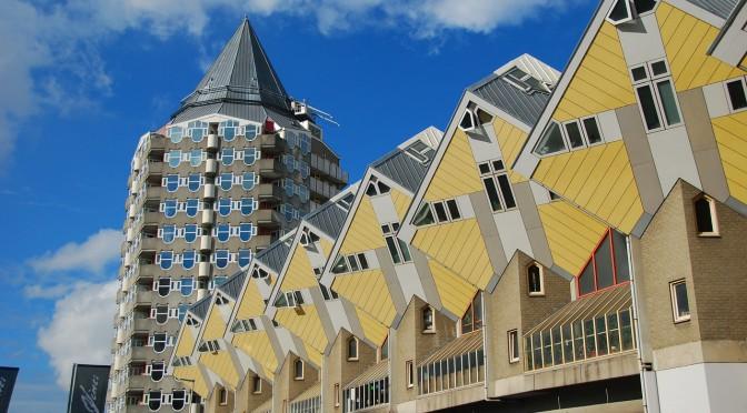 Ein wahrer Häuserwald – die Kubushäuser in Rotterdam