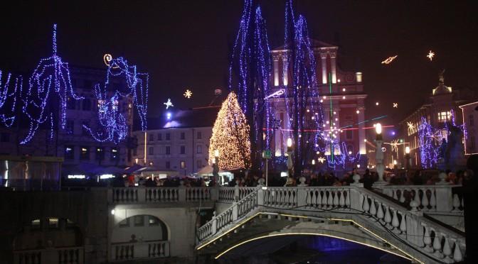Der Weihnachtsmarktes von Ljubljana