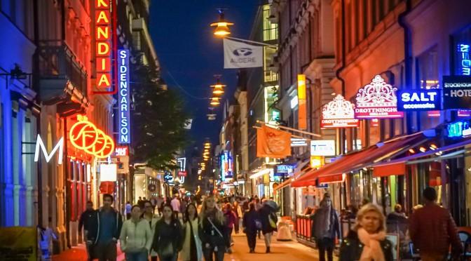 Der Weihnachtsmarkt im Stockholm