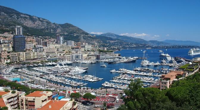 Der Hafen von Monaco – beliebte Anlegestelle für exklusive Yachten aus aller Welt