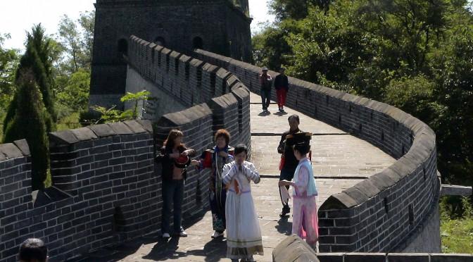 Chinesische Mauer per Rad