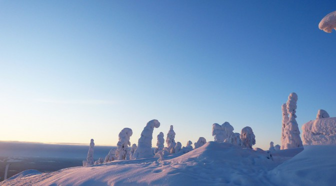 Lainio Snow Village in Lappland – eintauchen in eine mystische Welt aus Eis und Schnee