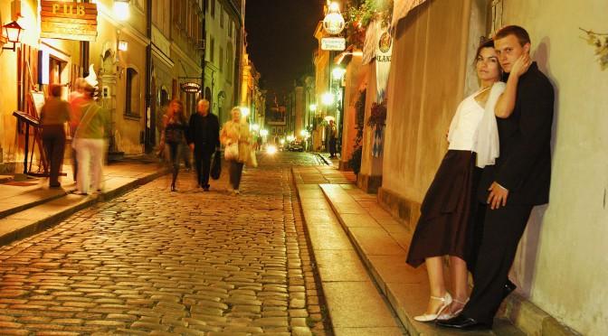 Praga in Warschau